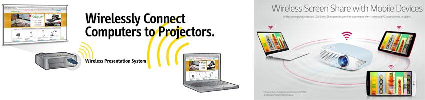 kablosuz projeksiyon cihazları